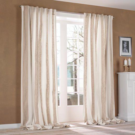 Vorhang u201eBrera Largou201c, 1 Vorhang Luxus-Leinen von Designers Guild - gardinen und vorhänge für wohnzimmer