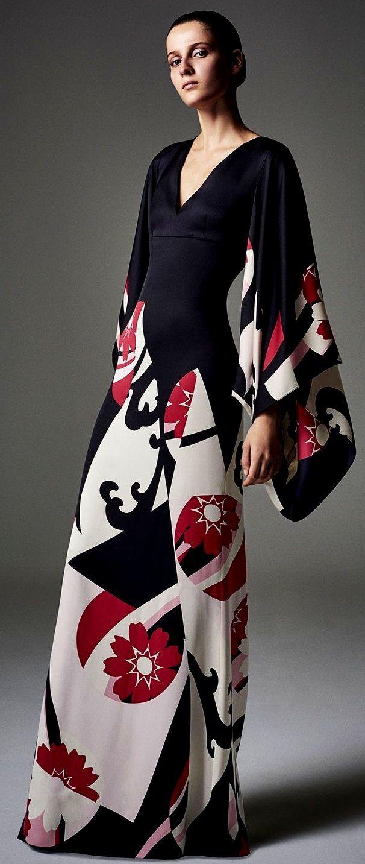 Vestido noche kimono