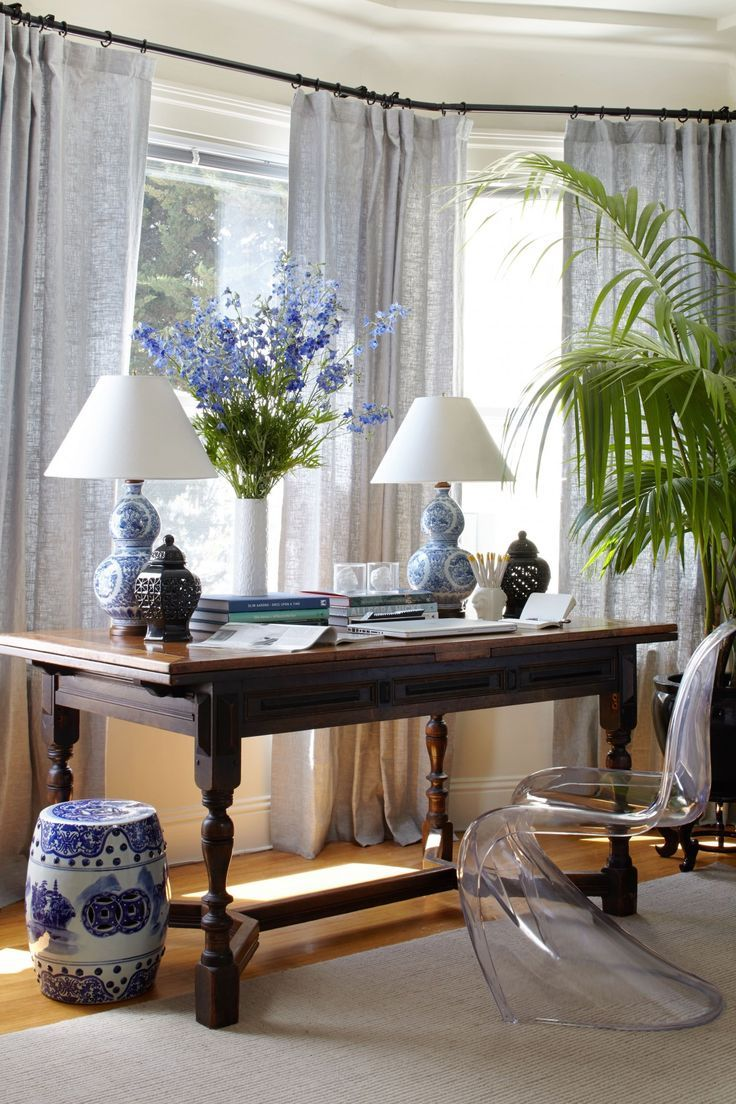 Home Office Tour Stacie Flinner White Decor Traditional Decor Home Decor