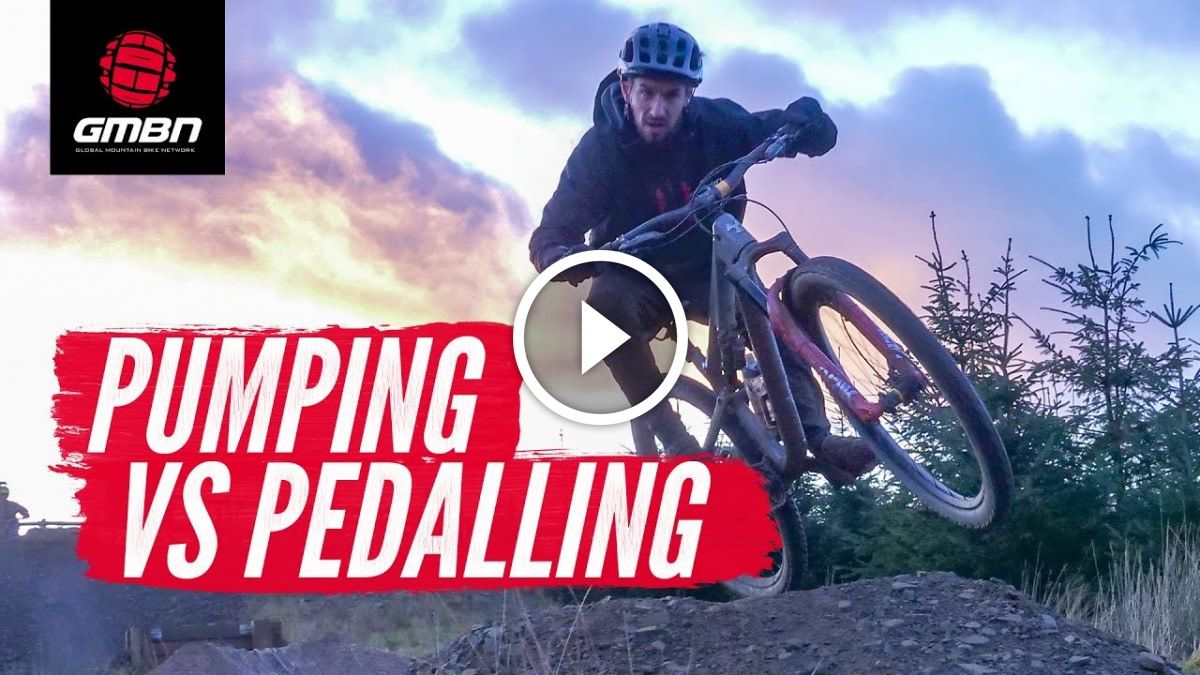 Watch Is Pumping Your Mountain Bike Faster Than Pedaling
