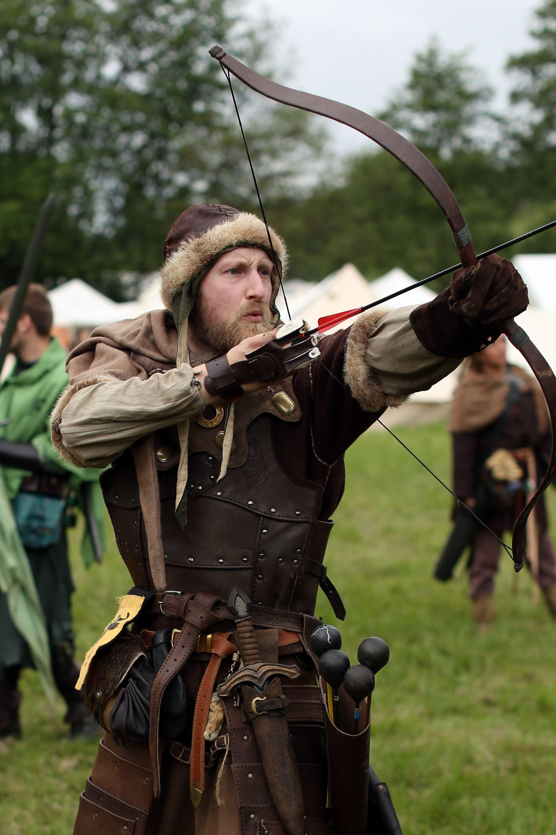 Norse Archer Larp Inspiration Legenden