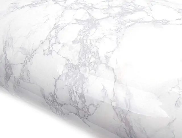 Amazon Com Clearance Peel And Stick Wallpaper Countertop Backsplash Faux Marble Faux Marble Countertop