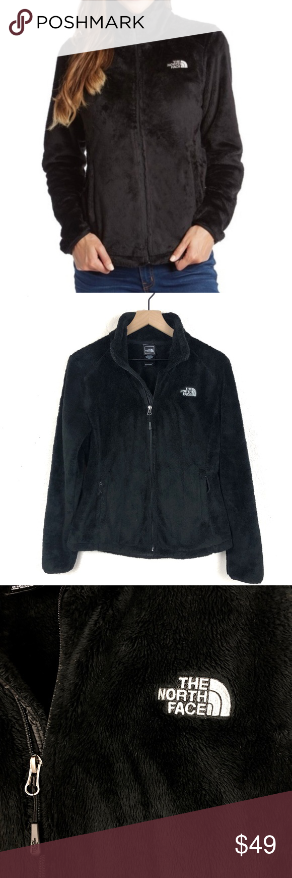 Women S North Face Osito Fleece Black North Face Classic Jacket North Face Fleece [ 1740 x 580 Pixel ]