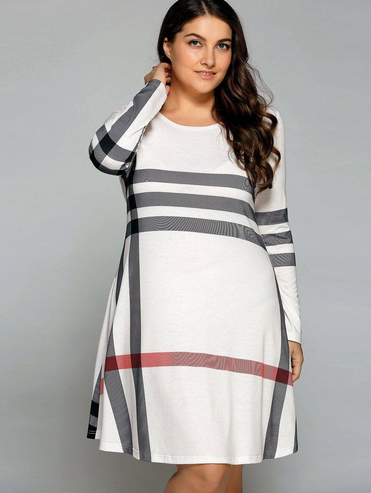 Long Sleeve T Shirt Dress Womens