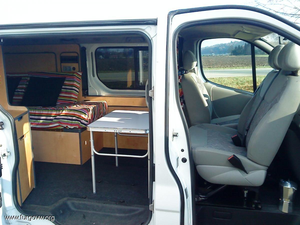 Opel Vivaro Camper 1 9 Cdti Largo 6 Plazas Transit Camper Diy Camper Camper Conversion