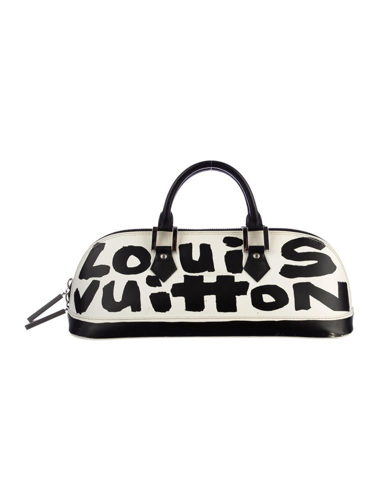 8343ba45d604 Louis Vuitton Graffiti Alma Horizontal Bag