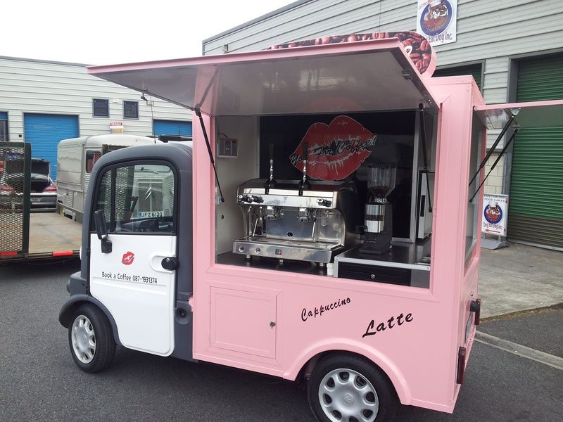 Mobile coffee van for sale
