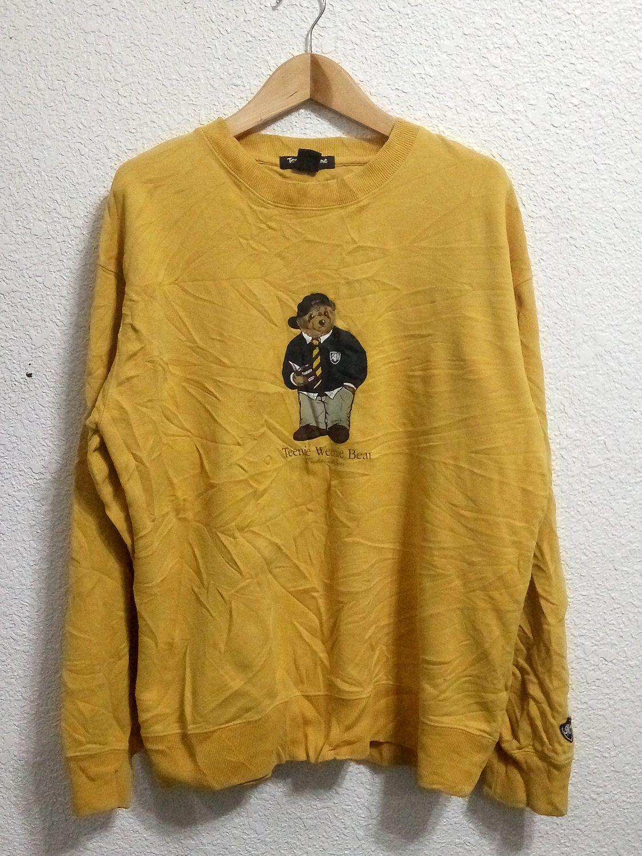 Vintage Tienie Wenie Sweatshirt Yellow Colour | Sweatshirt and Vintage
