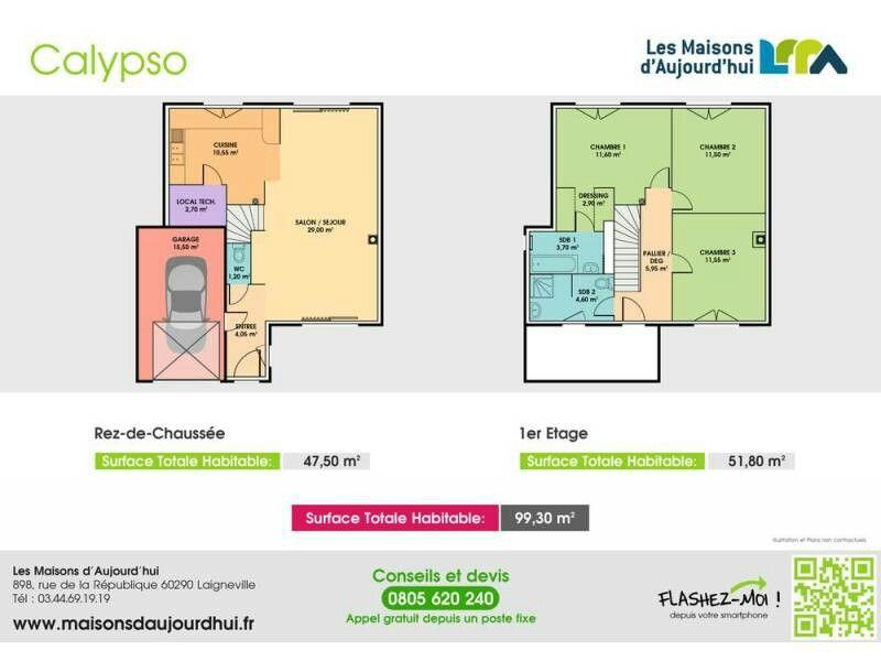 Calypso planos casa Pinterest