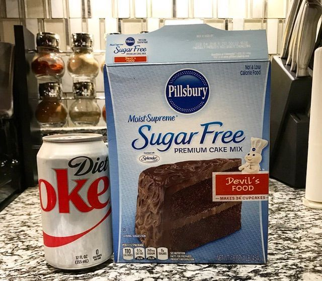 How To Make Cake With Diet Soda Chocolate Cake With Diet Coke