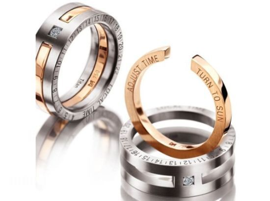 Sundial Mens Wedding Ring is an awesome creation by Meister Jewelry