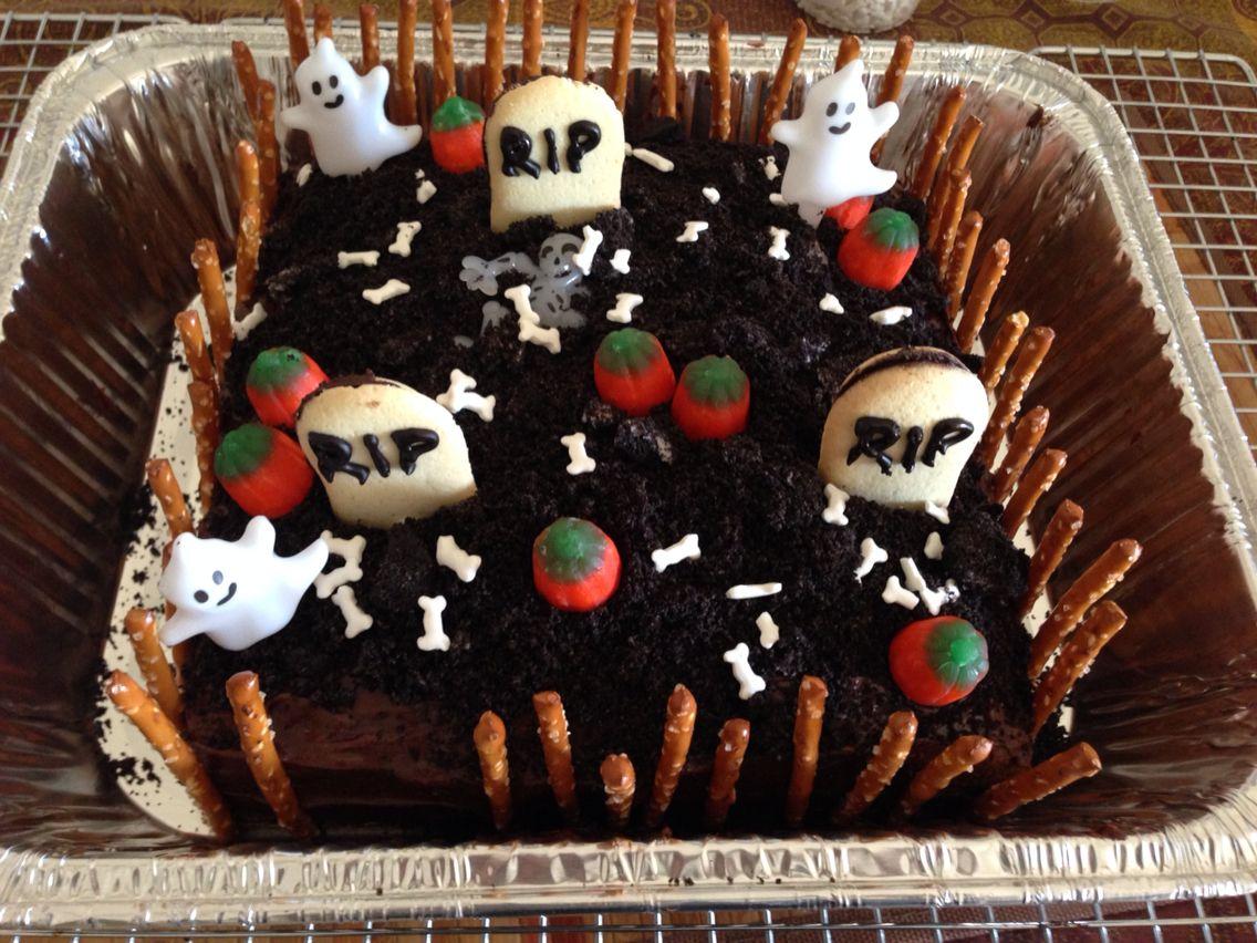 Graveyard cake graveyard cake cake desserts