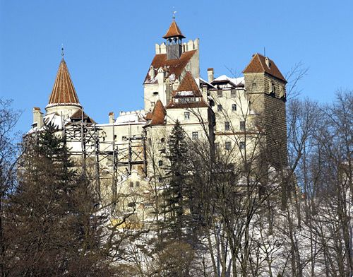 Bran castle was constructed around 1377 by the Saxons of Kronstadt. The first document which mentions Bran Castle is by Louis I of Hungary giving the Saxons of Kronstadt the privilege to build the castle. As a result of this, the city of Bran was also developed nearby.[1] This castle was used in defense against the Ottoman Empire. Today, the castle is used as a museum and a national monument for Romania.This is where the fictional character Dracula have lived.