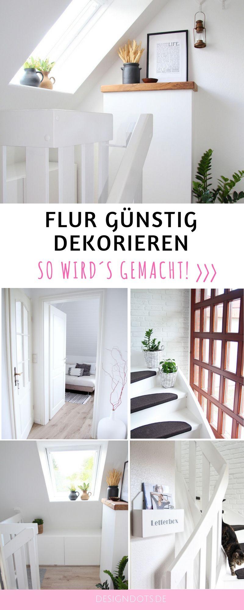 Flur Und Treppenhaus Neu Gestalten Und Dekorieren: Vorher Nachher. Wohnung  Renovieren, Neue Gestalten