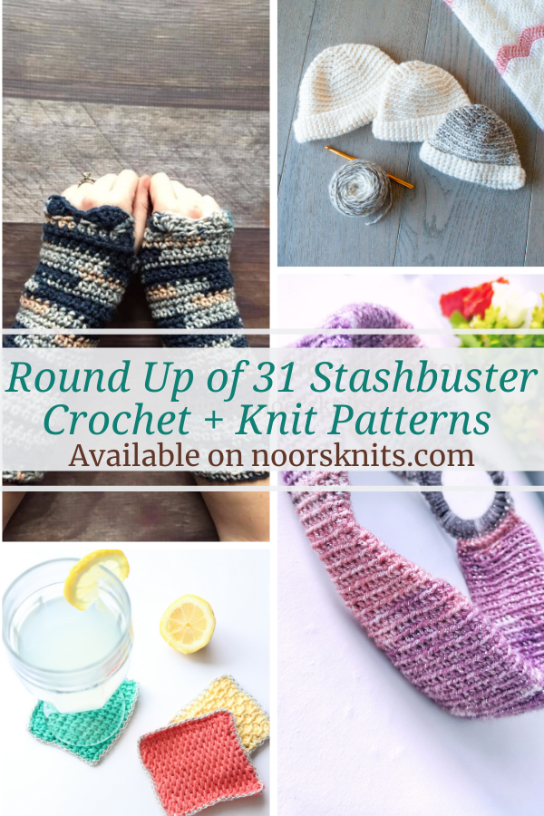 A crochet pattern roundup that features crochet designers that are offering one of their stashbuster crochet patterns as a free downloadable PDF. . . . #stashbuster #crochetpattern #yarnstash