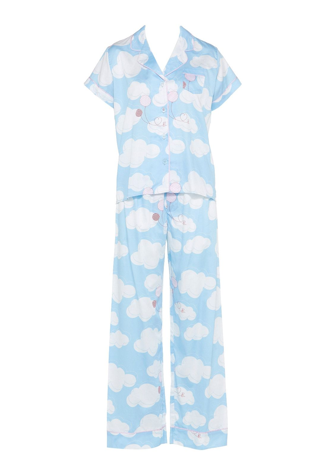 9d5b7a2819 Cloud Print Pj Set | Peter Alexander I LOVE CLOUD PYJAMAS ...