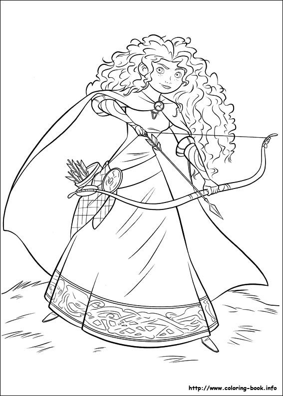Brave Coloring Picture Princess Coloring Pages Disney Princess Coloring Pages Disney Coloring Pages