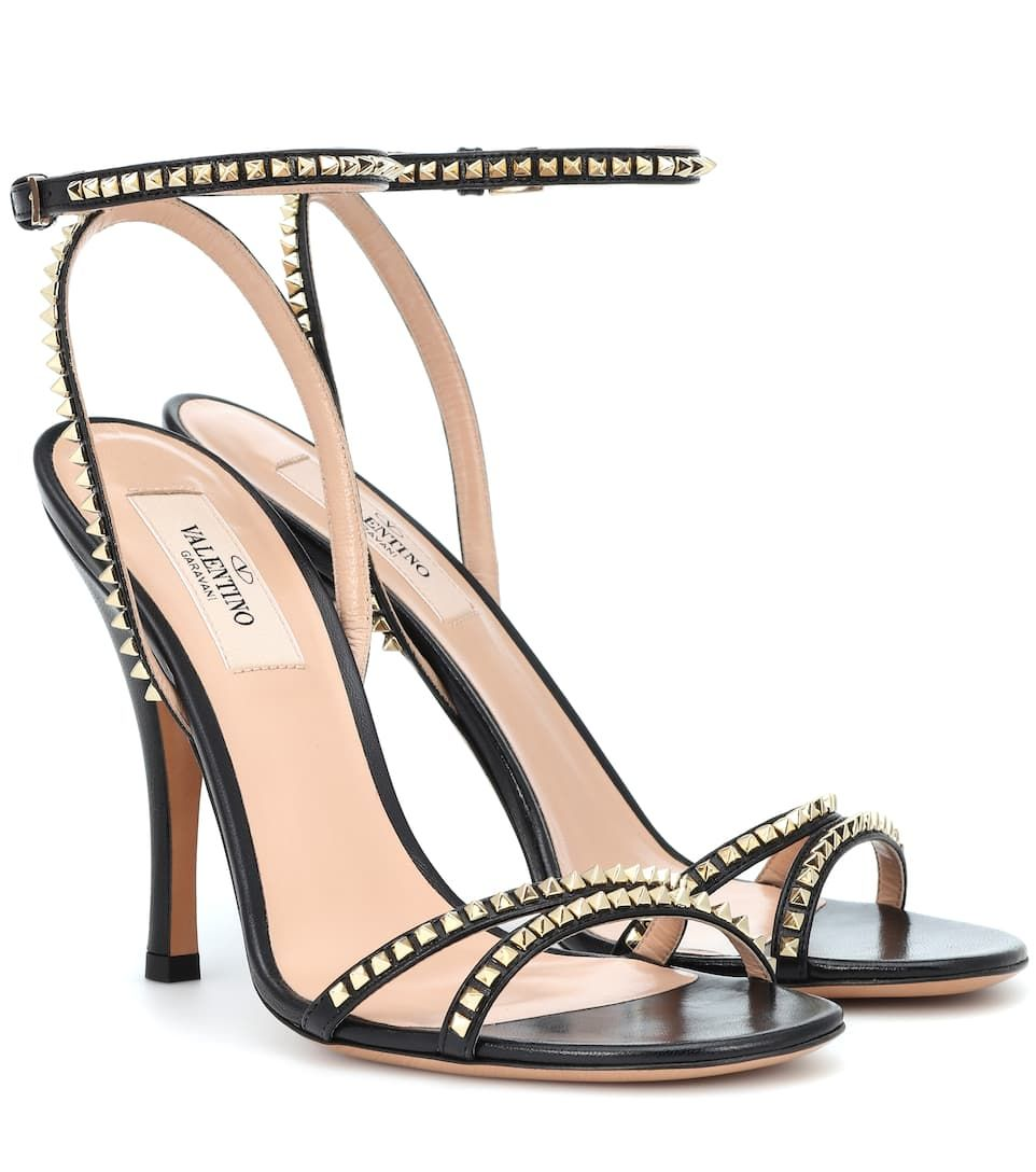 48158b3a6 Valentino Rockstud leather sandals | Helloooo lover! | Valentino ...