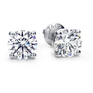 The Tiffany Diamond Studs Every Needs A Pair Co Category Diamonds Solitaire And Pendants