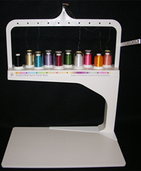 Echidna Multi Spool Thread Stand Machine Embroidery Projects Embroidery Supplies Machine Embroidery Designs