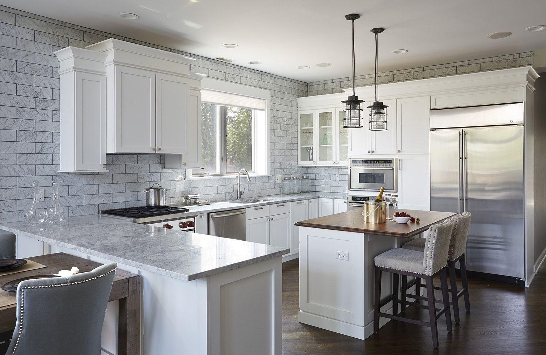 Best 40 Striking Functional Kitchen Peninsulas Kitchen 400 x 300