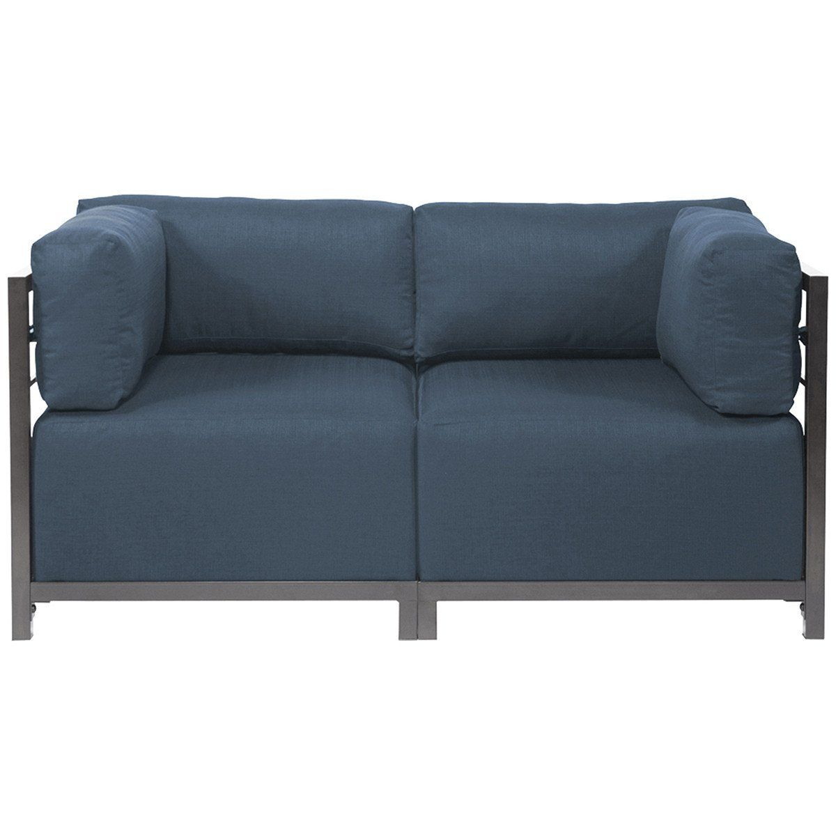 Howard Elliott Sterling Axis 2pc Sectional with Titanium Frame