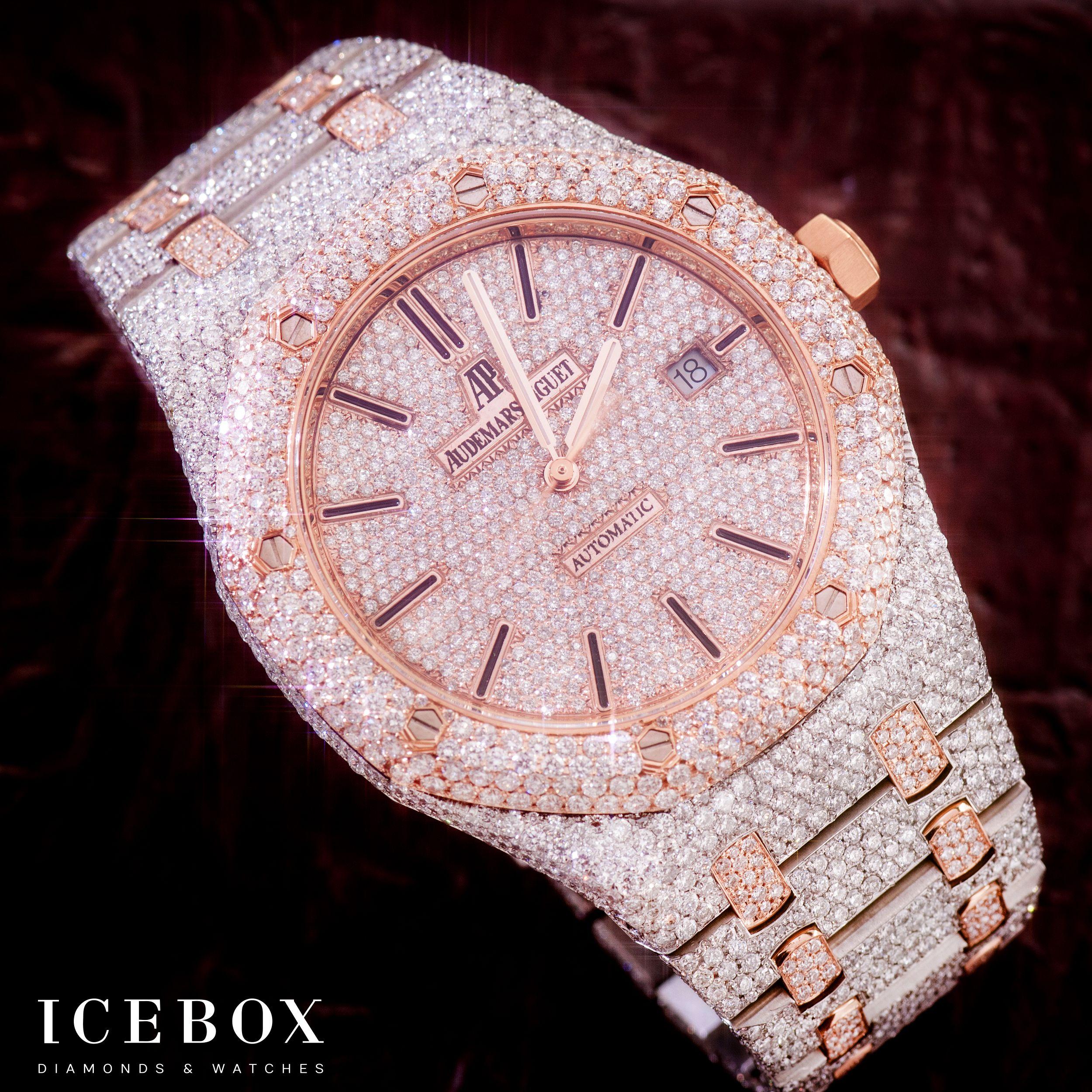 Pin by Icebox Diamonds & Watches on Audemars Piguet | Gold ...