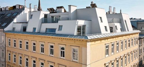 #Vienna plan to build on top of an existing building | #architecture