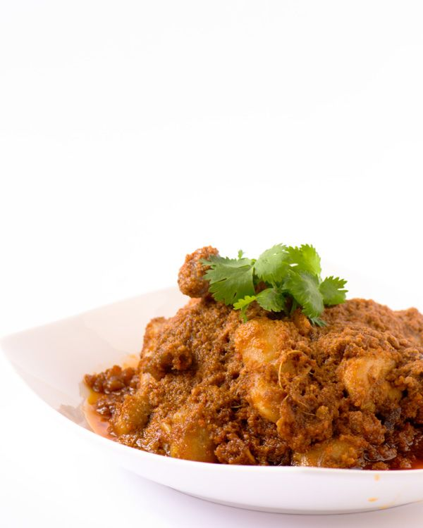Chicken Rendang Original Indonesian Recipe Rendang Is Curried And Stewed Meat Dish Cooked