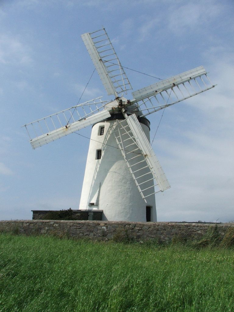 Wind Mill Stone Windmill Tower Northern Ireland