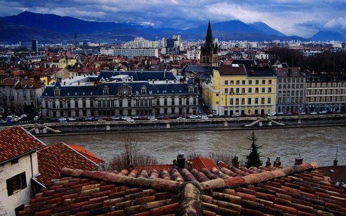 Grenoble France Free Desktop Hd Wallpaper