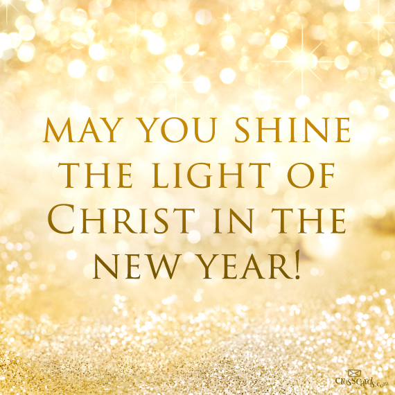 Shine the light of Christ in the new year https://www.facebook.com ...