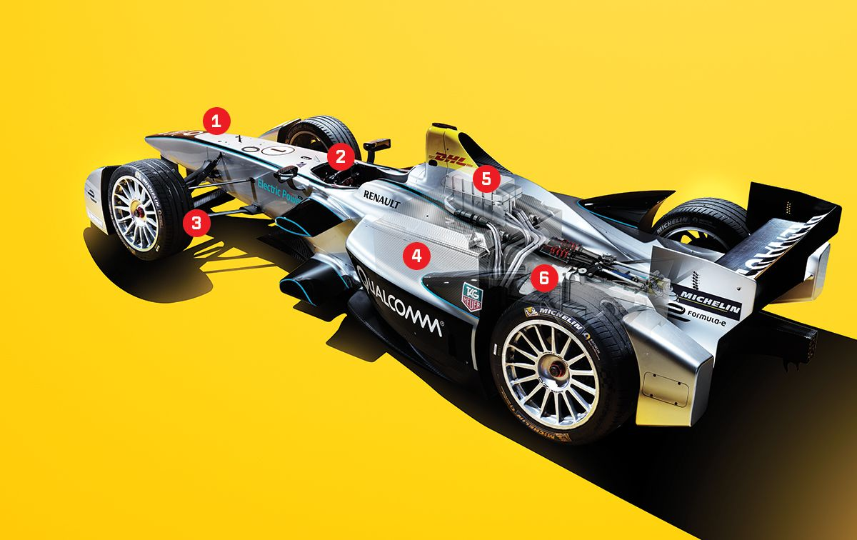 Take a Ride in a Ridiculously Cool Formula E Electric Racer – Diagram Of A Formula 1 Race Engine