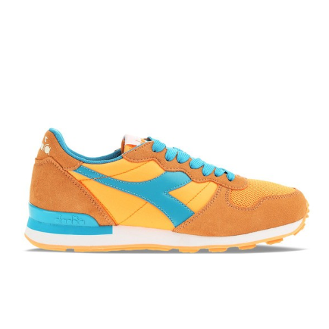 Designer: Diadora Color: Orange Blue Retro running model