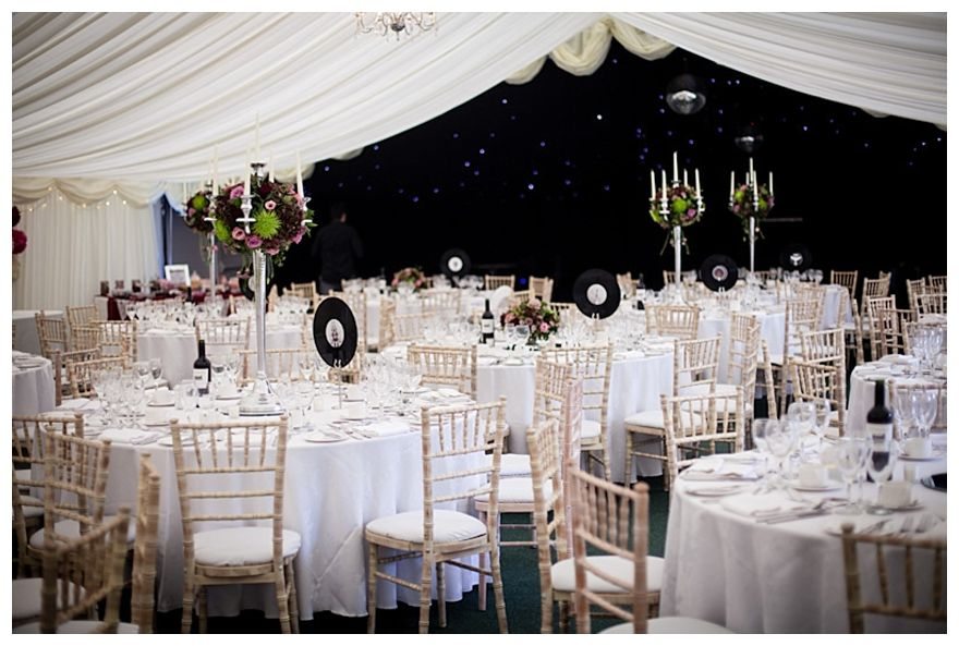 With A Fabulous Rock Music Wedding Theme Gorgeous Burgundy Colour And