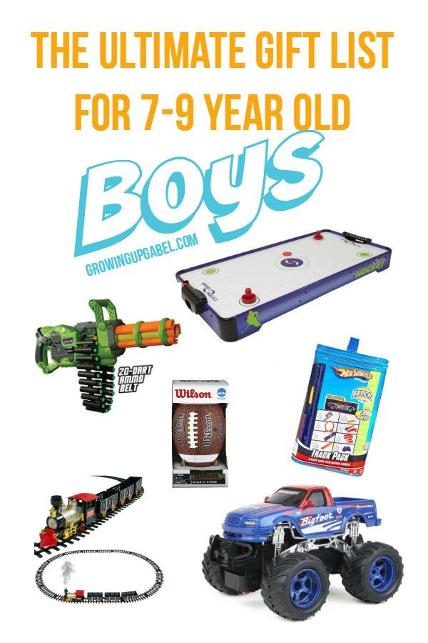 Looking For A Gift The 7 9 Year Old Boy In Your LifeLook No Further Find Something Every Budget And Hobby This Awesome List Of Best Gifts