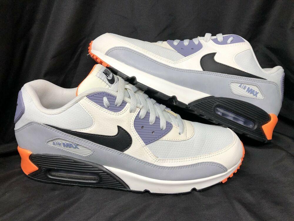 new arrival 5b399 49aad Mens Nike Air Max 90 Essential 537384-005 Size 13 Orange ...
