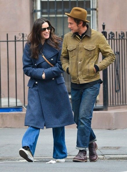 Liv Tyler Walks With a Friend in NYC