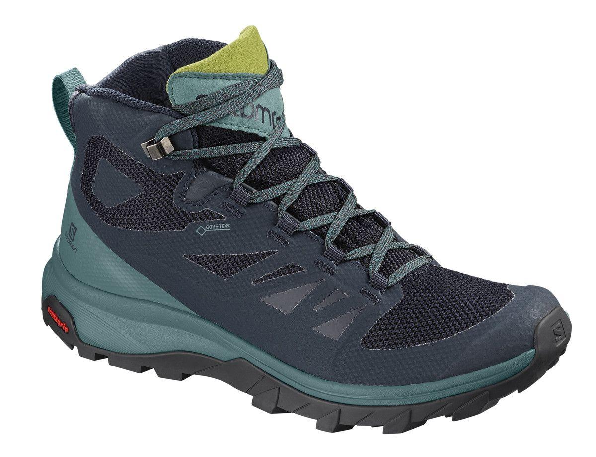 Photo of Salomon Outline Mid GTX Shoe – Women's, $150 | jans.com