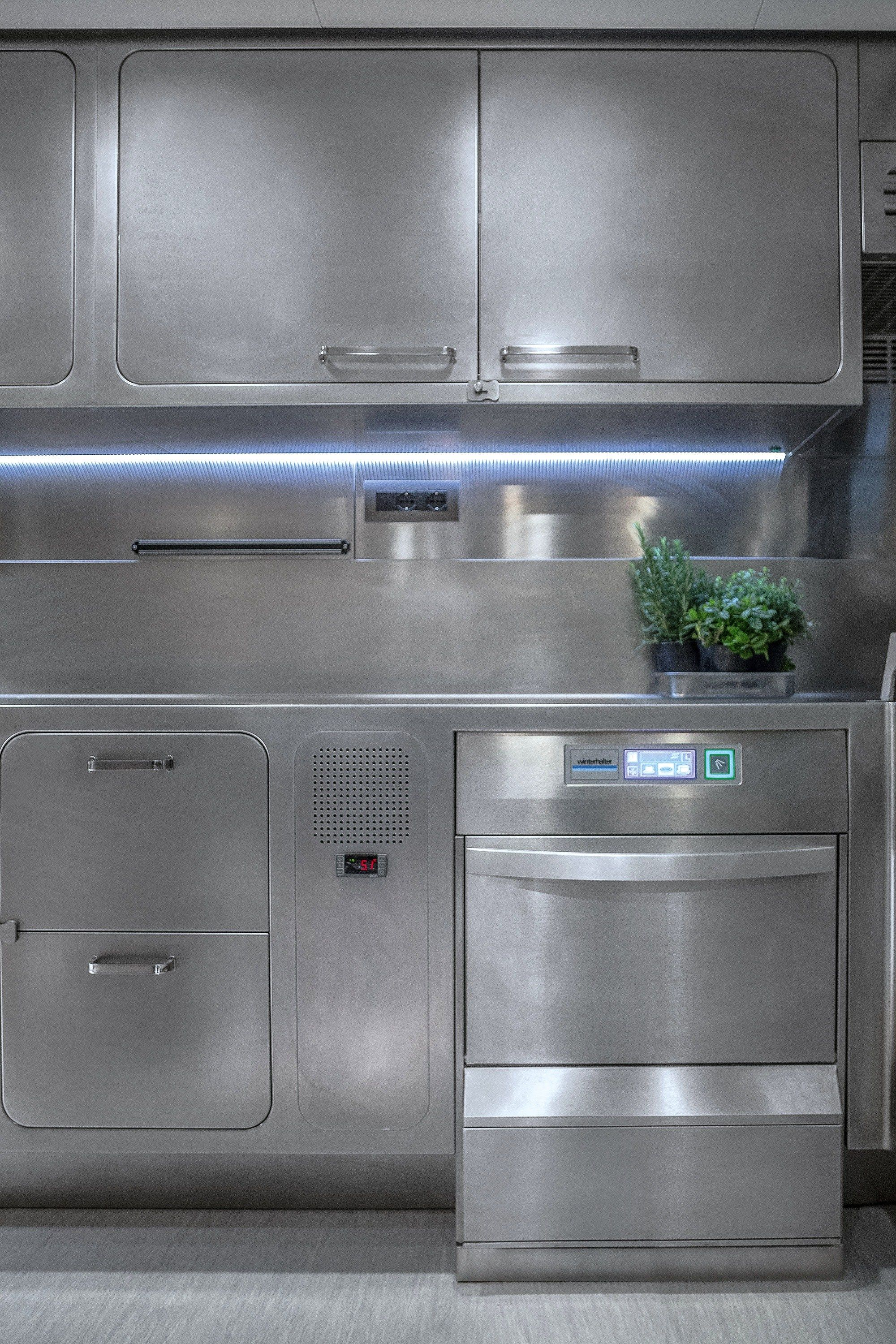 Professional Stainless Steel Kitchen Ego By Abimis Is A Prisma S R L Brandmark Design Alberto Tors Kitchen Design Kitchen Decor Stainless Steel Kitchen Design