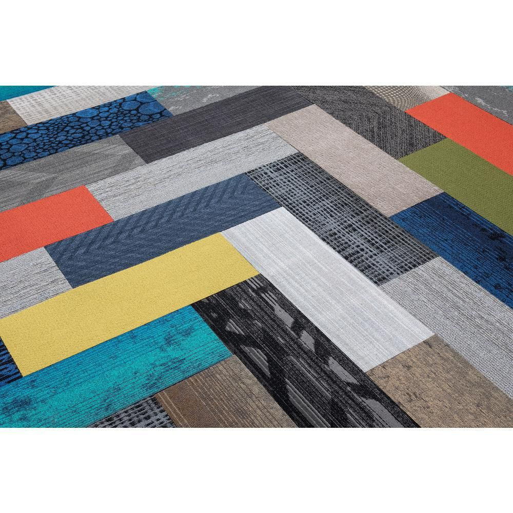 Versatile assorted pattern commercial peel and stick 12 in x 36 in carpet tile planks 10 tiles case 17665 the home depot mud room