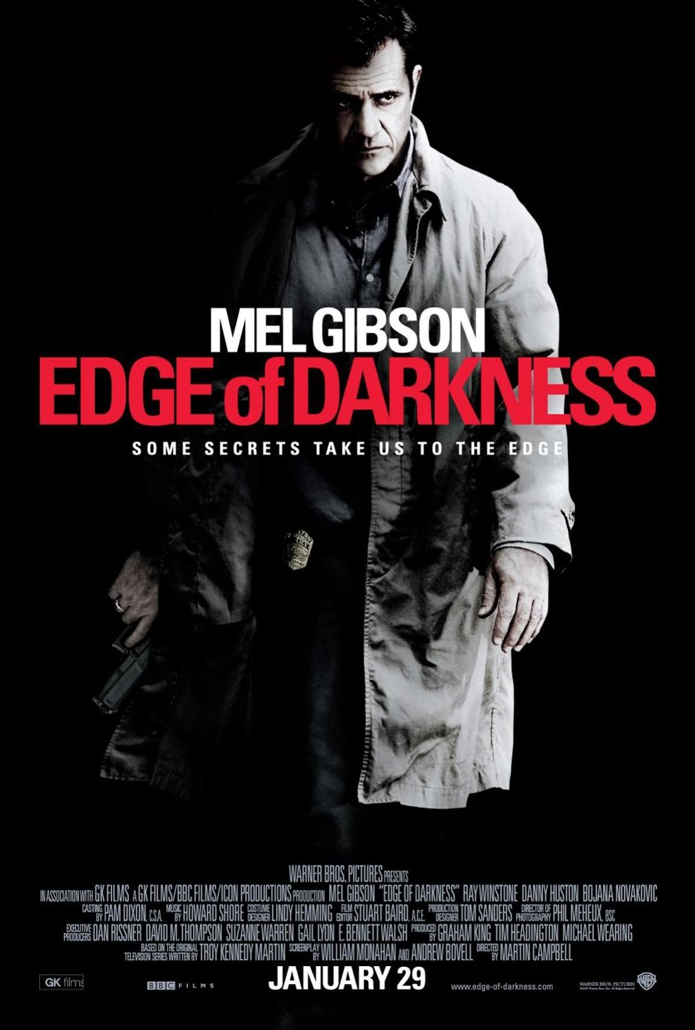 Edge Of Darkness 2010 Mel Gibson Movies Movie Posters