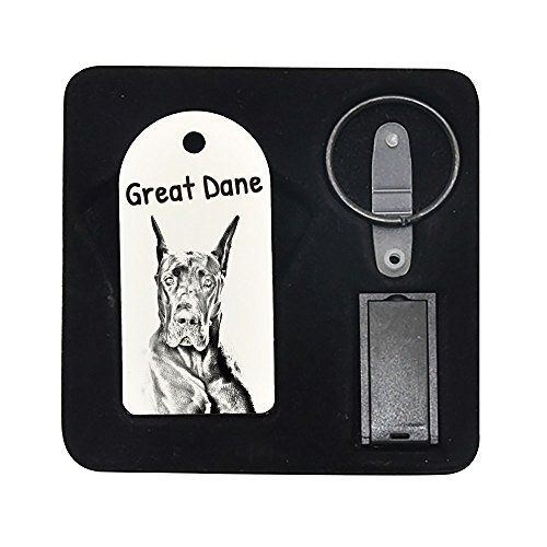 Great Dane Cropped 8gb Pendrive Pendant With An Image Of A Dog