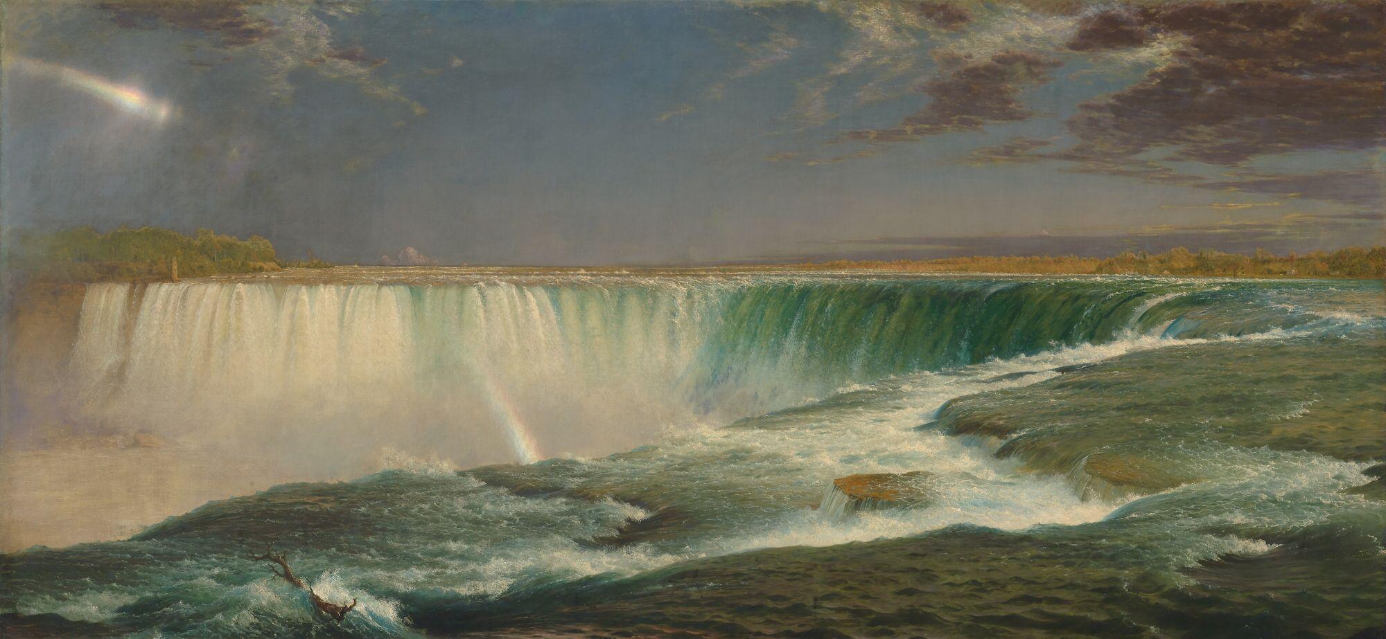 Niagara 1857 - Frederic Edwin Church