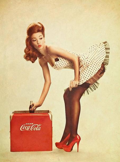 Conosciuto cocacola anni 50 - Cerca con Google | anni 50 | Pinterest | Pinup  VX43