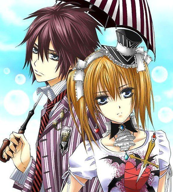 Shiki and Rima, pocky loving, vampire models. What's not to love? Vampire Knight