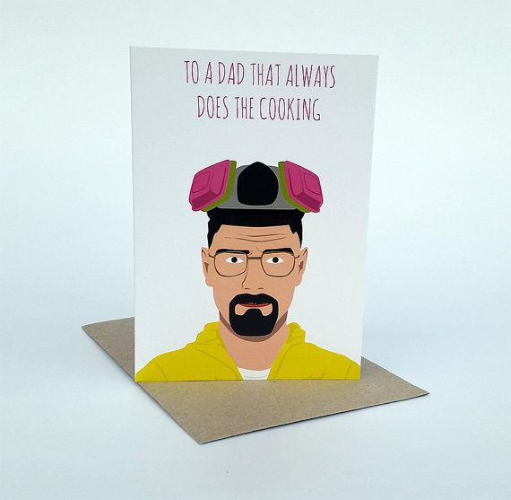Breaking bad greeting card walter white funny card breaking breaking bad greeting card walter white funny card m4hsunfo