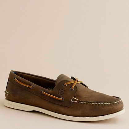 Loafers & Slip-Ons Men Sperry Top-Sider 2 Eye Moc Boat Shoe Brown Cheap Wholesale