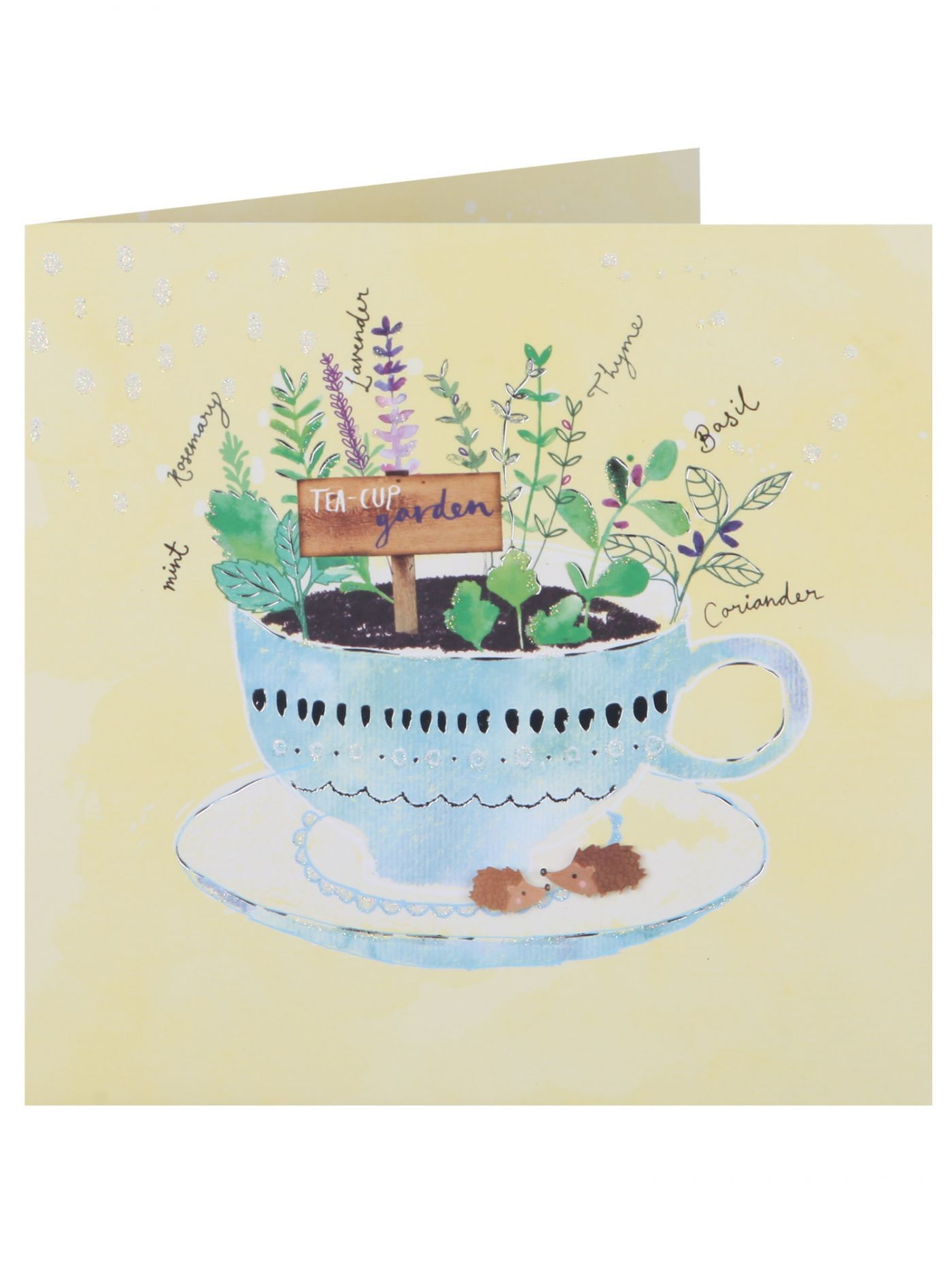 A La Mode Tea Cup Garden Mother's Day Card - Cards - Mothers Day | Clintons