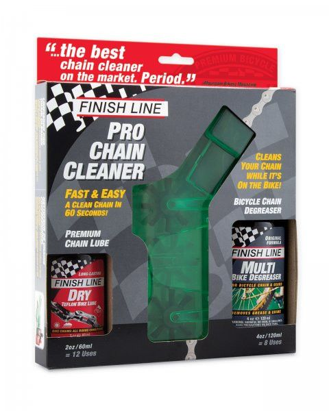 Pro Bike Chain Cleaner Kit Degreasers Finish Line Cleaning Kit